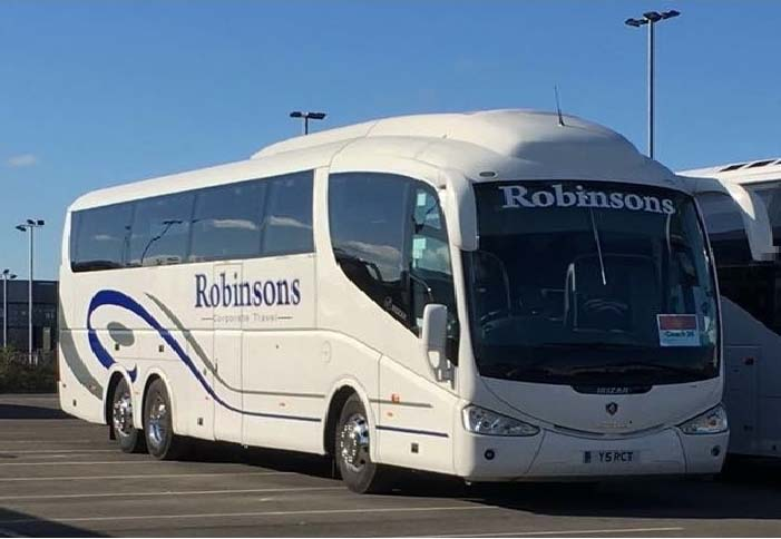 Robinsons Coach Travel quality coach hire services