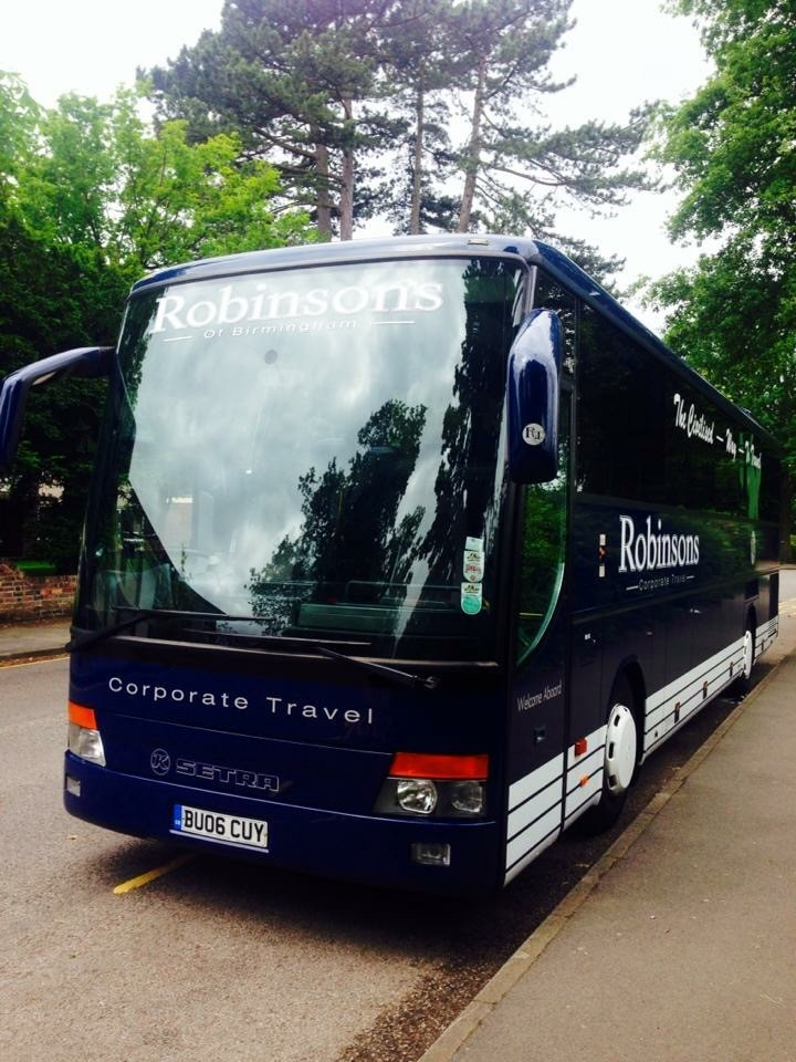 Midi Coach Hire by Robinsons Coach Travel