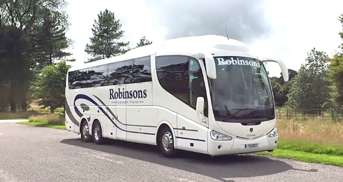 Day trips excursions with Robinsons Coach Travel